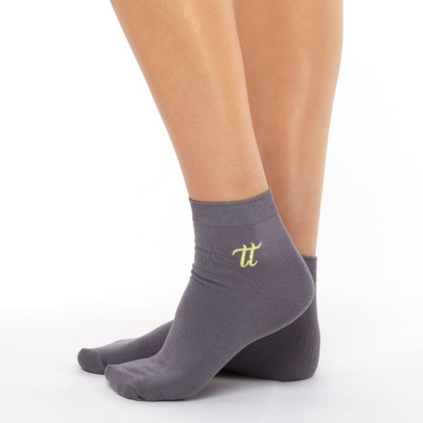 Women's warm cotton socks grey