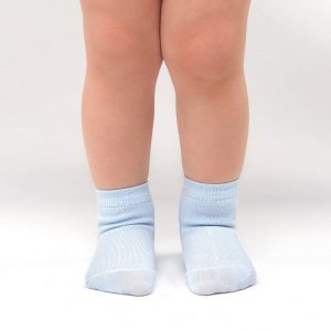 Bamboo Baby socks light blue