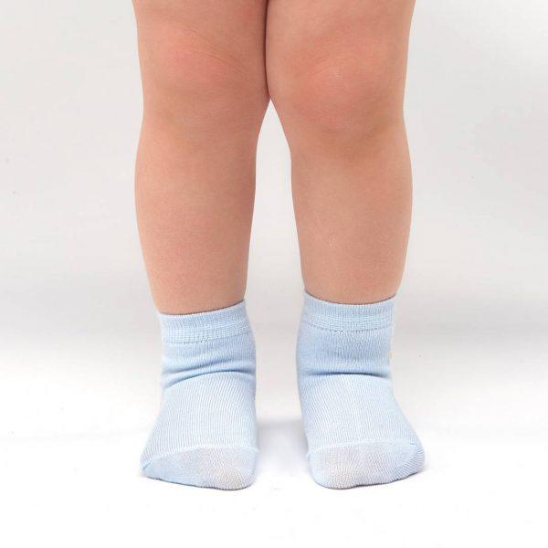 Bamboo Baby socks light blue