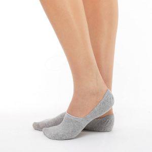 women 2 pairs invisible socks