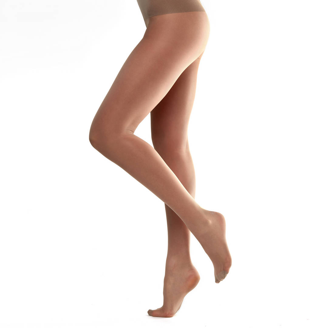 Nylon pantyhose beige