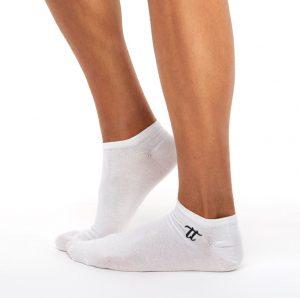 Men's liner socks white