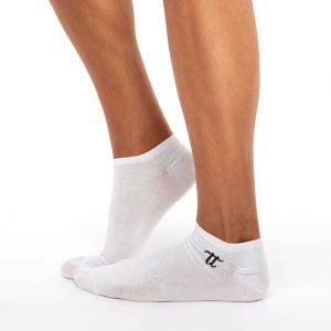 Men's liner socks white