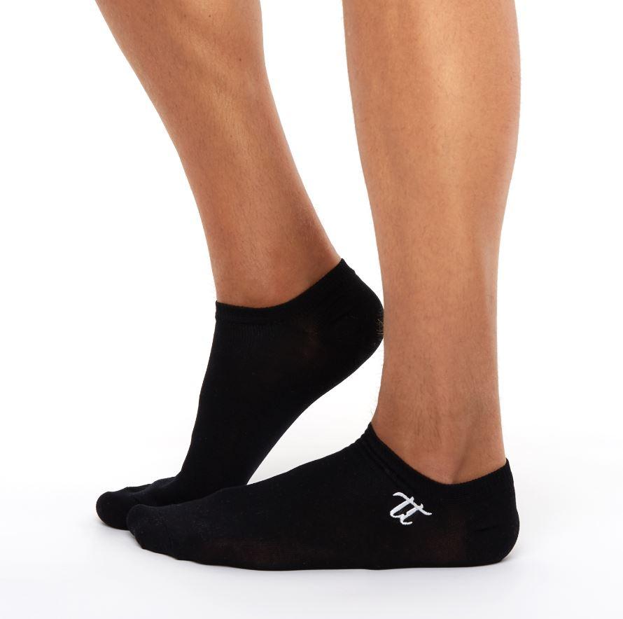 Men's liner socks black