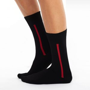Men's warm cotton socks black