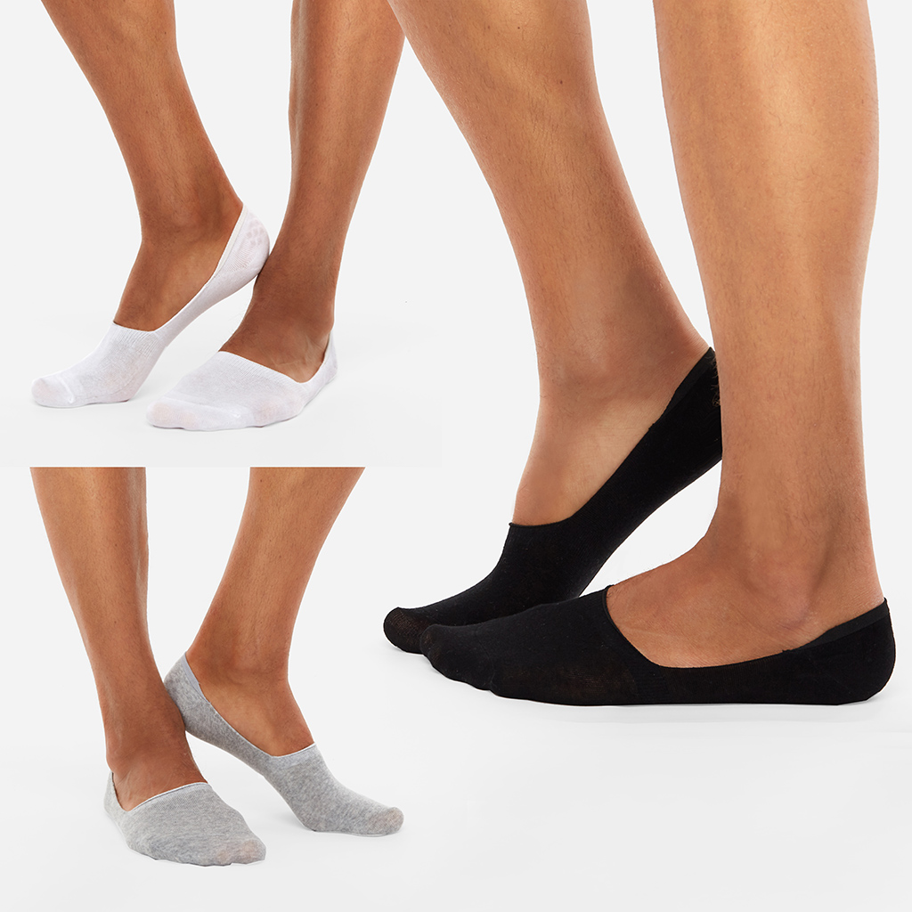 3 pairs invisible socks