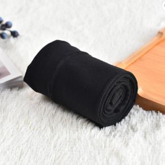 Winter warm Cotton fiber tights black color