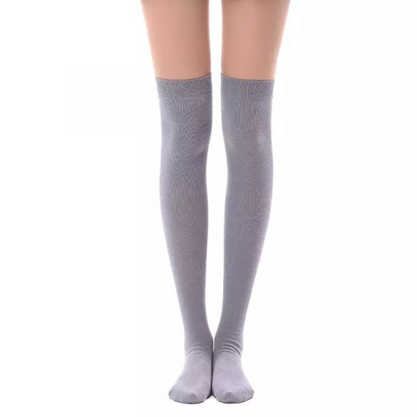 New soft cotton knee high socks