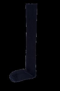 New soft cotton knee high socks – Navy blue color